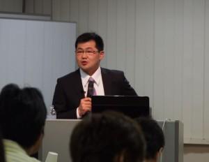 篠田先生の講演