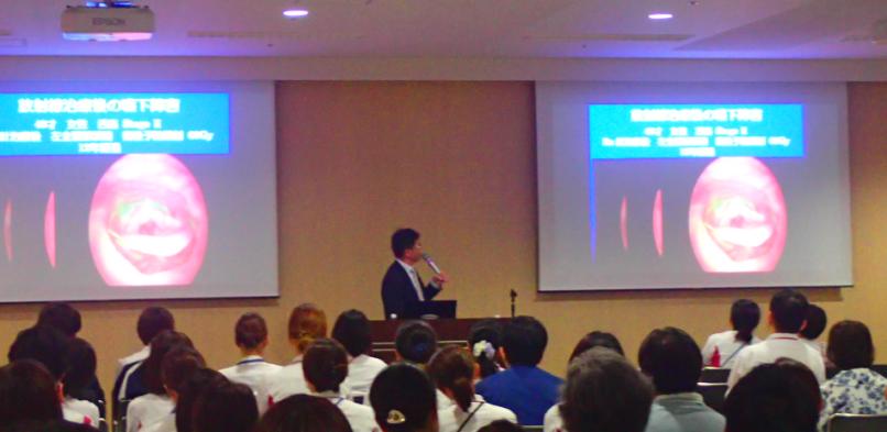 篠田院長の「がん治療と口腔ケア」講演